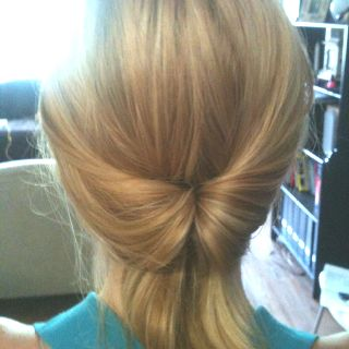 My hair today :)