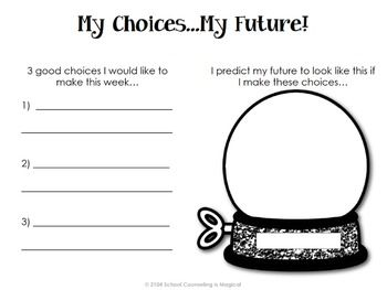 Printables Choices And Consequences Worksheet choices and consequences a decision making activity packet packet