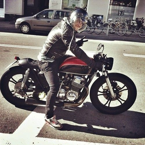 honda cb 750 cafe racer #motos #caferacer #motorcycles