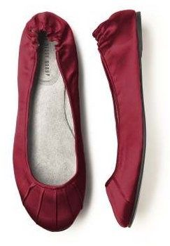 Marsala Wedding Shoes: Marsala Flats: