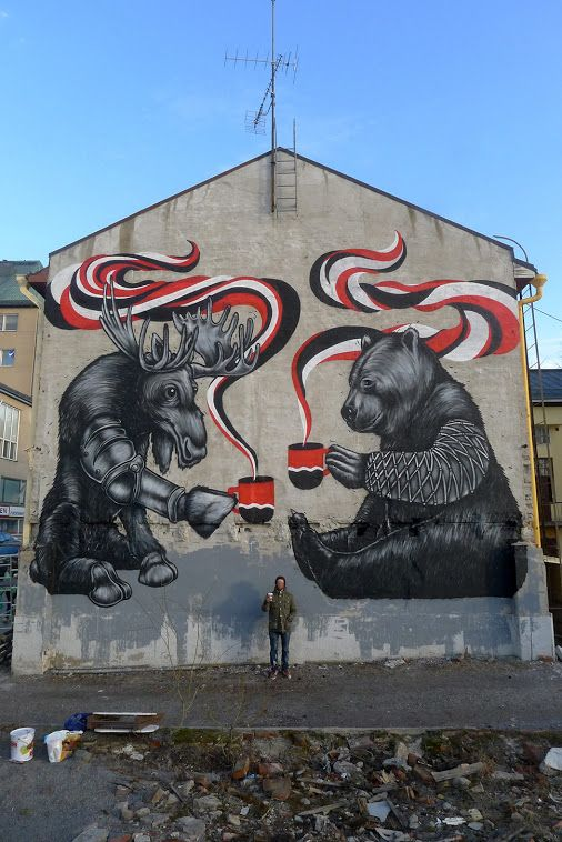 Street art in Finland by Pallo. Photo by Pallo.: