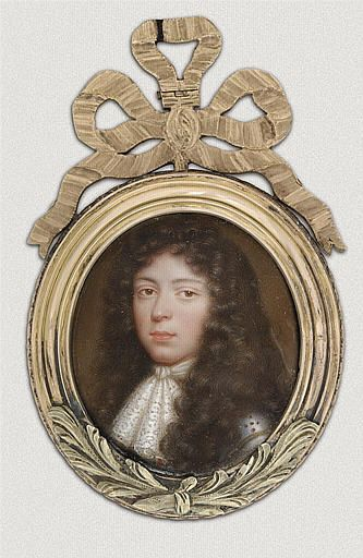 Presumed to be Louis de Mornay, marquis de Villarceaux (1607-1691), 17th century by Jean Petitot le Vieux. Villarceaux was the lover of  Francoise d'Augbigne (the future Madame de Maintenon) from 1660-1663, after the death of her first husband.: