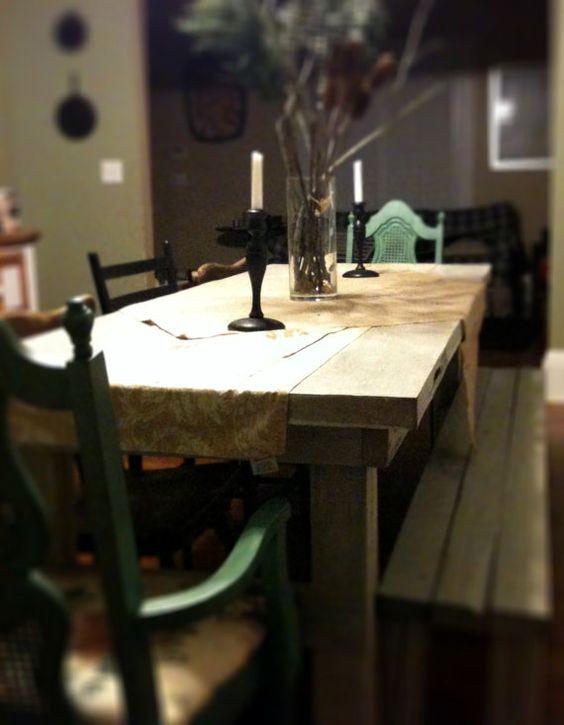 Repurposed Door Farmhouse Table 80x30 by MacMaddies on Etsy $600.00 & Pinterest \u2022 The world\u0027s catalog of ideas Pezcame.Com