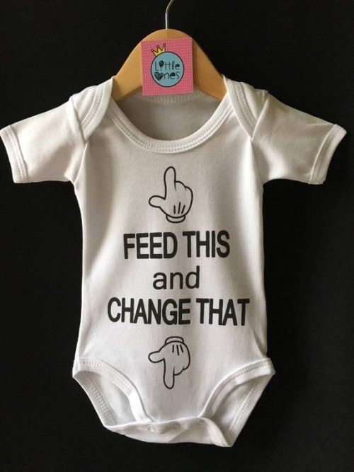 White Baby Onesie Raunchy Funny Silly Cute Bodysuit Girl or Boy FREE SHIPPING! My Daddy Only Plays With The BOX I Came Out Of