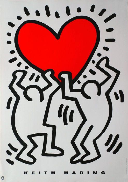 Adesivi Murali Keith Haring.Pin Di Razvan Olteanu Su Ink Keith Haring Keith Immagini