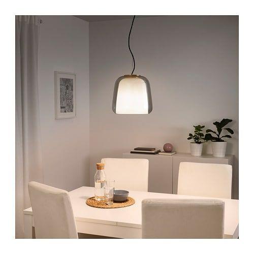 Evedal Lampada A Sospensione Grigio Ikea It Ikea Table Lamp Table Lamp Shades Dimmable Table Lamp