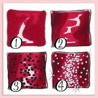 simply had to post! HOW TO DRAW SEQUINS! | THE *UAE* REVIEW