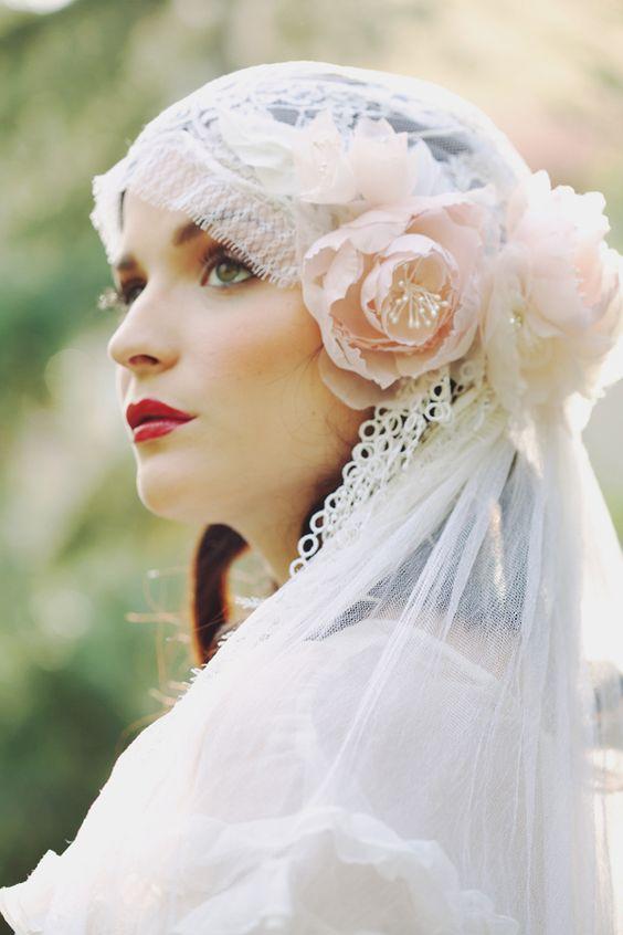 vintage mantilla style - Erica Elizabeth Designs