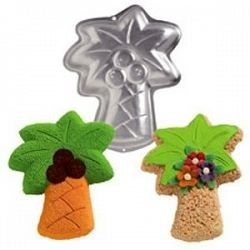 Wilton PALM TREE Cake pan, Mold, Tin with the original paper insert & instructions.  $29.99