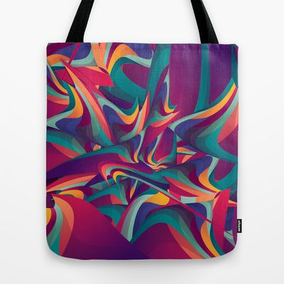 wrong past Tote Bag by Danny Ivan - $22.00
