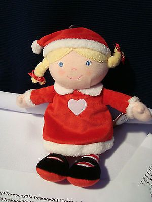 Carter's Precious First Christmas Plush Doll Toy 8