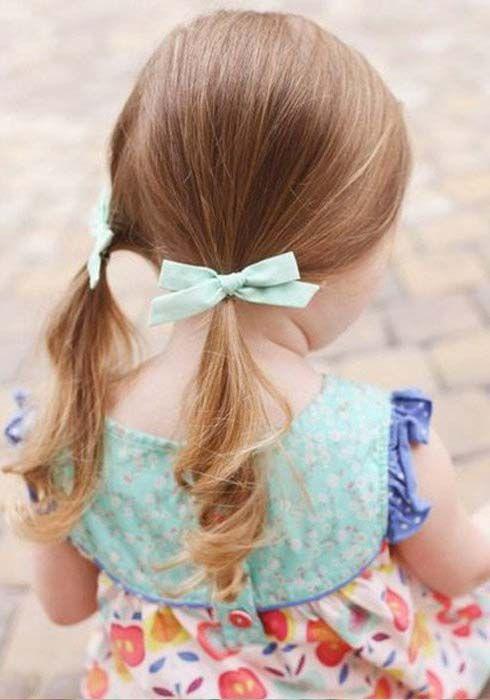25+ Coiffure petite fille avec ruban inspiration