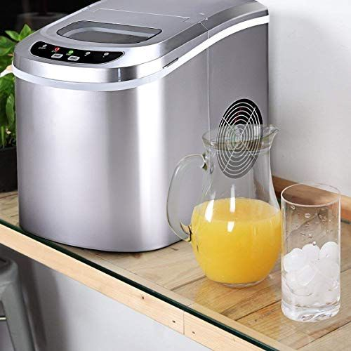 Costway Counter Top Ice Maker Machine Portable Compact Electric