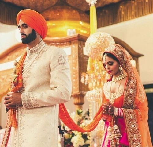 "Anand Karaj, The Sikh Marriage Ceremony, Meaning ""Blissful"
