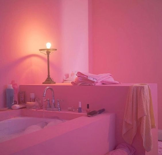 Grunge Pink Bedroom Aesthetic Trendecors