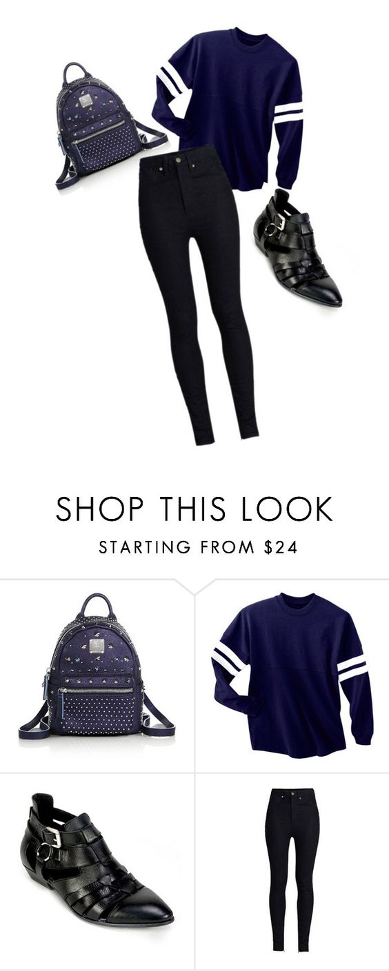 """school"" by leoniemika on Polyvore featuring mode, MCM, Summit et Rodarte"