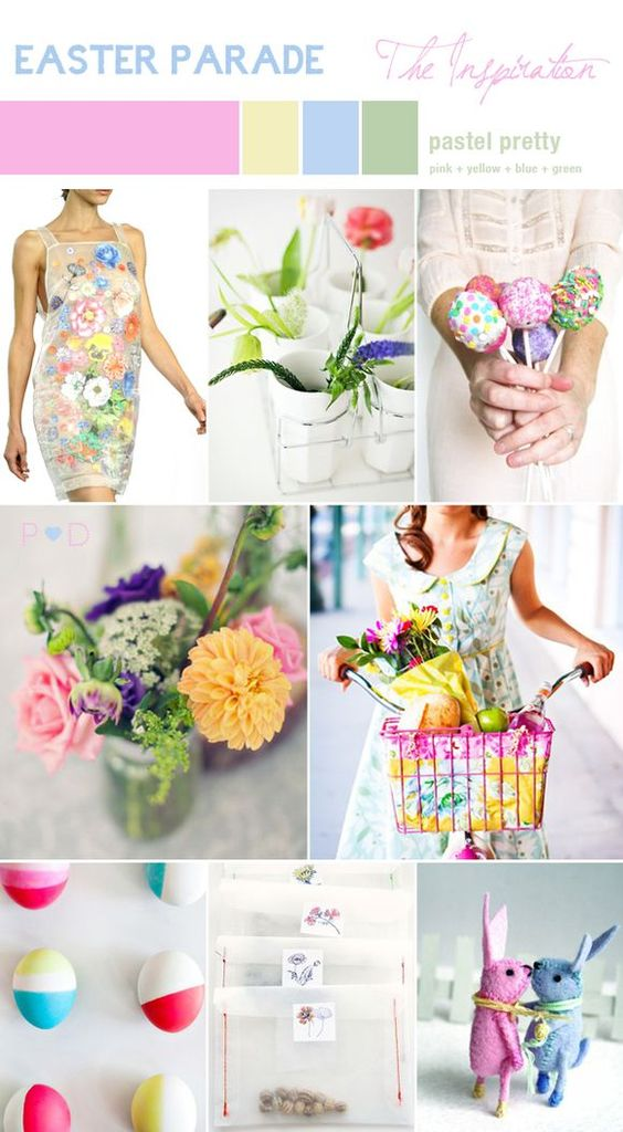 Easter parade inspiration board...