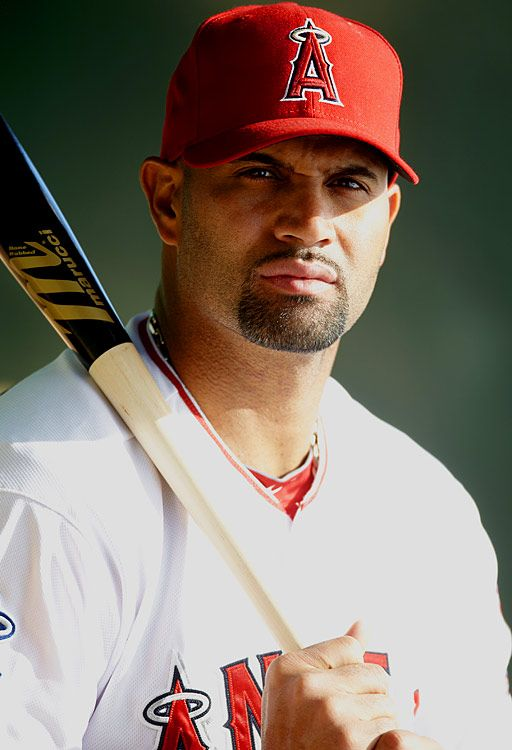 Albert Pujols, Los Angeles Angels. I am not an Angels fan, but I respect this man so much. His kindness and attitude towards baseball are an inspiration.