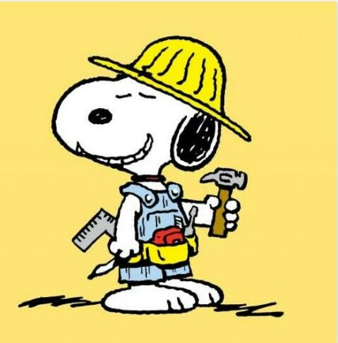 Workmen snoopy