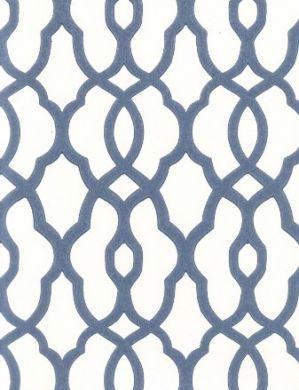 Wallpaper For Statement Wall Blue Geometric