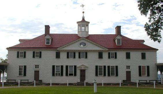 Mount Vernon's lopsided main facade reflects the conservatism is the revolutionary leader. As Washington enlarged his father's house, he didn't want to mess up already beautiful rooms by moving their windows around to make a symmetrical facade. He was content to improve by building upon the past.