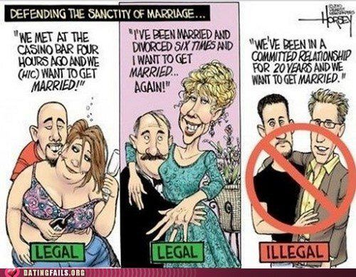 Why should gay marriage be legal?