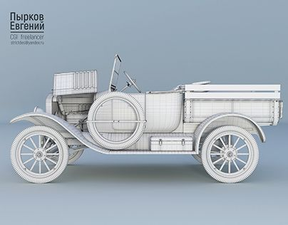 """Check out new work on my @Behance portfolio: """"CGI. FordT modeling"""" http://be.net/gallery/47106527/CGI-FordT-modeling"""