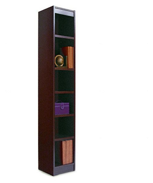 Alera 12 Inch Narrow Profile Veneer Bookcase Wide Bookcase Bookcase Wooden Bookcase