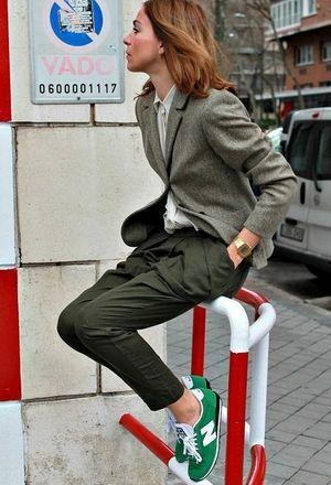 Como combinar unas #NewBalance en color verde  Modelo disponible en www.pepesport.es