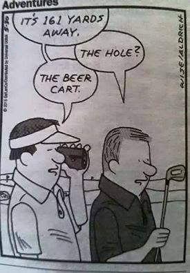 Gotta have priorities! I Rock Bottom Golf #rockbottomgolf | #repin by @lorisgolfshoppe