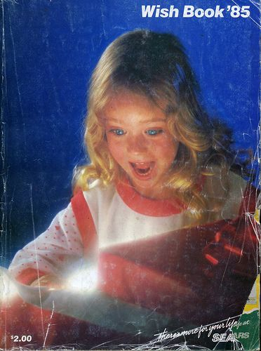 Sears Wish Book Cover 1985:
