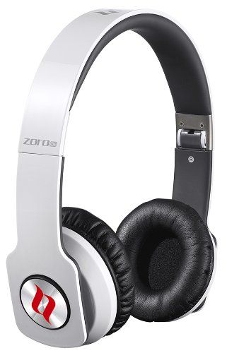 Noontec ZOROHDWHT ZORO HD True Sound Headphones with Inline Mic and Answer/End Button - White - Listing price: $149.99 Now: $59.99  #Noontec
