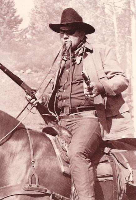"""John Wayne in True Grit.....""""fill your hands you son of a bitch"""". Love it!!!!"""