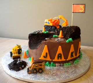 construction cake inspiration