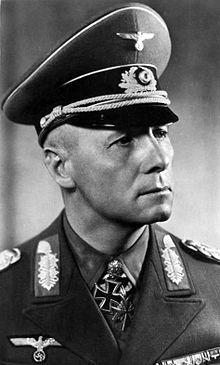 Erwin Rommel, el Zorro del Desierto, comandante del Afrika Korps.