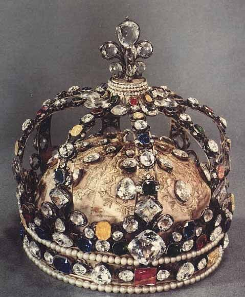 The coronation crown of Louis XV. Crowns are a symbol of royalty but this crown belonged to the last corrupt kind of France before the French Revolution. Crown more than anything in the play represent the corruption of power that occurs in the kindom. this crown could represent Claudius position in court.