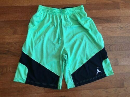 Vintage Nike Air Jordan Shorts Lime Green In 2020 Jordan Shorts Vintage Nike Air Jordans