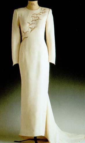 Princess Diana, Golden Falcon dress...Catherine Walker ...