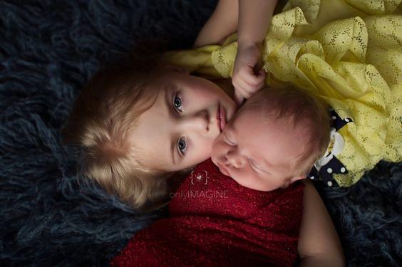 newborn with sibling #newborninspiration #onlyimaginephotography