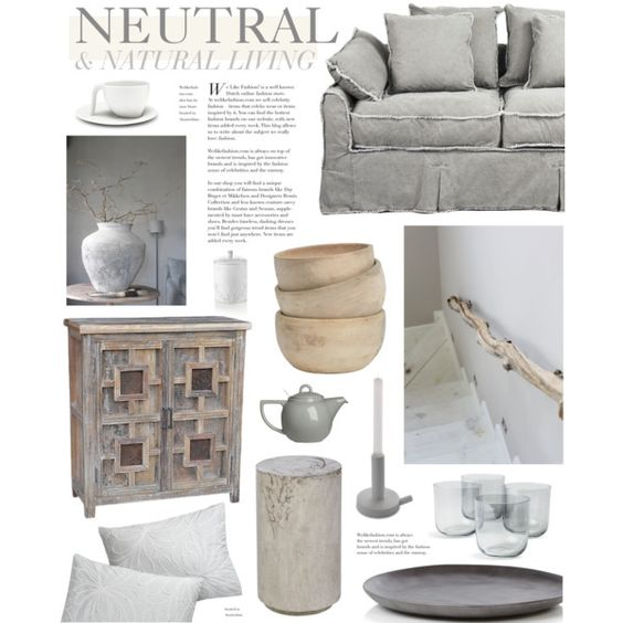 Neutral color palette by bellamarie on polyvore featuring for Neutral interior paint palette