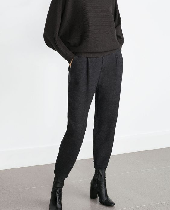 pantalon fluide tout voir pantalons femme zara france pantalon pinterest zara. Black Bedroom Furniture Sets. Home Design Ideas