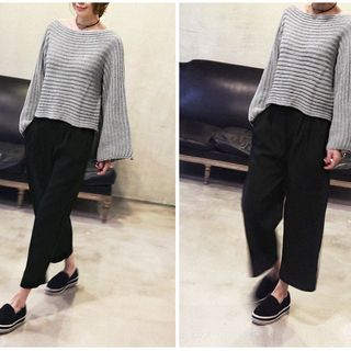 Buy NANING9 Elastic-Waist Wide-Leg Pants at YesStyle.com! Quality products at remarkable prices. FREE WORLDWIDE SHIPPING on orders over US$35.