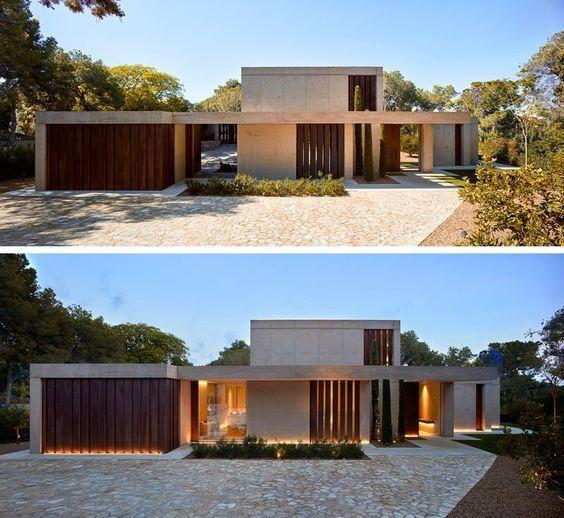 Fachadas De Casas Modernas En Espana Sillonesmodernos Modern Architecture House Dream House Exterior Architecture House