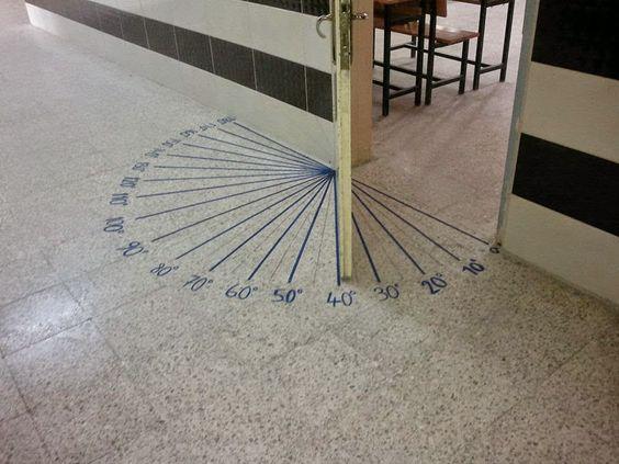 La mejor forma para aprender medidas de ángulos. | Matemolivares