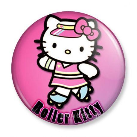 Badge : Hello Kitty - Roller