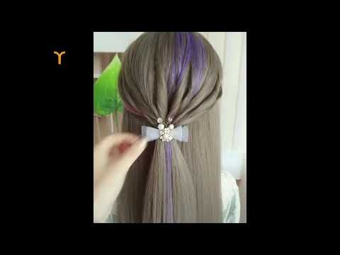 تسريحات شعر بنات 2019 أحدث تسريحات للشعر الطويل Youtube Easy Hairstyles Hairstyle Hair Styles