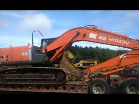 Hitachi Zaxis 160lc 3 Hydraulic Excavator Operator S Manual Sn 010366 And Up Pdf