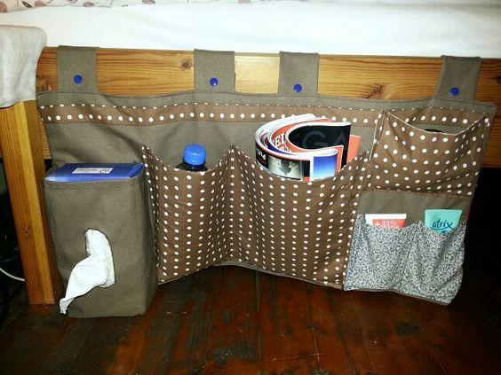 bettbutler bett utensilo damit endlich ordnung neben dem bett ist diy n hen pinterest. Black Bedroom Furniture Sets. Home Design Ideas