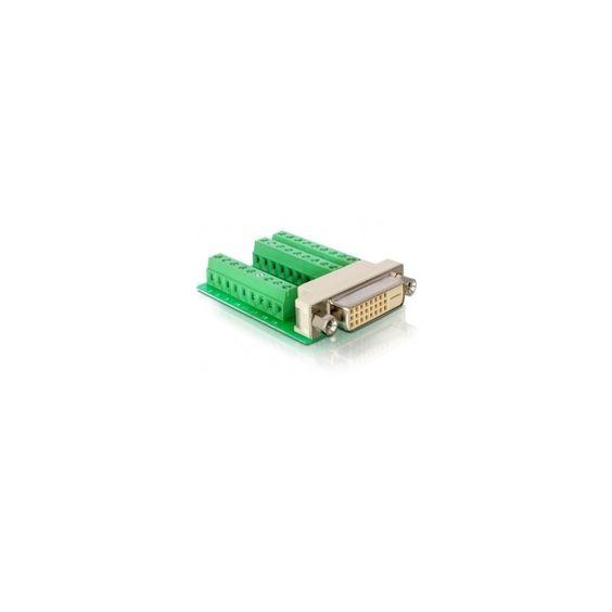 DeLOCK Adapter DVI 24 female > Terminal Block 27pin  27pin Grün DVI     #Delock #65169 #Adapter Video  Hier klicken, um weiterzulesen.