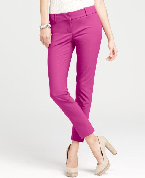 Oh, yes I did.  They re-stocked their petite sizes.  I can't wait for these to arrive. -Ann Taylor Petite Compact Doubleweave Cropped Pants in Dark Azalea